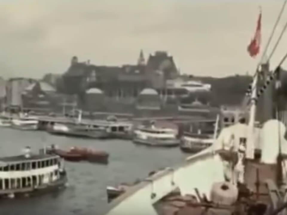 Der Hamburger Hafen 1938
