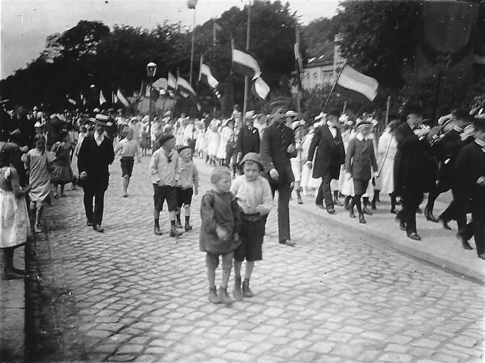 Kindergrün in Neumühlen 1912