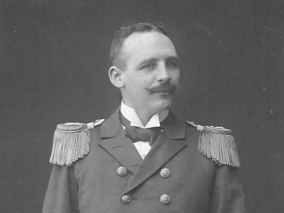 Charles Bähr. Aufnahme vom Februar 1909