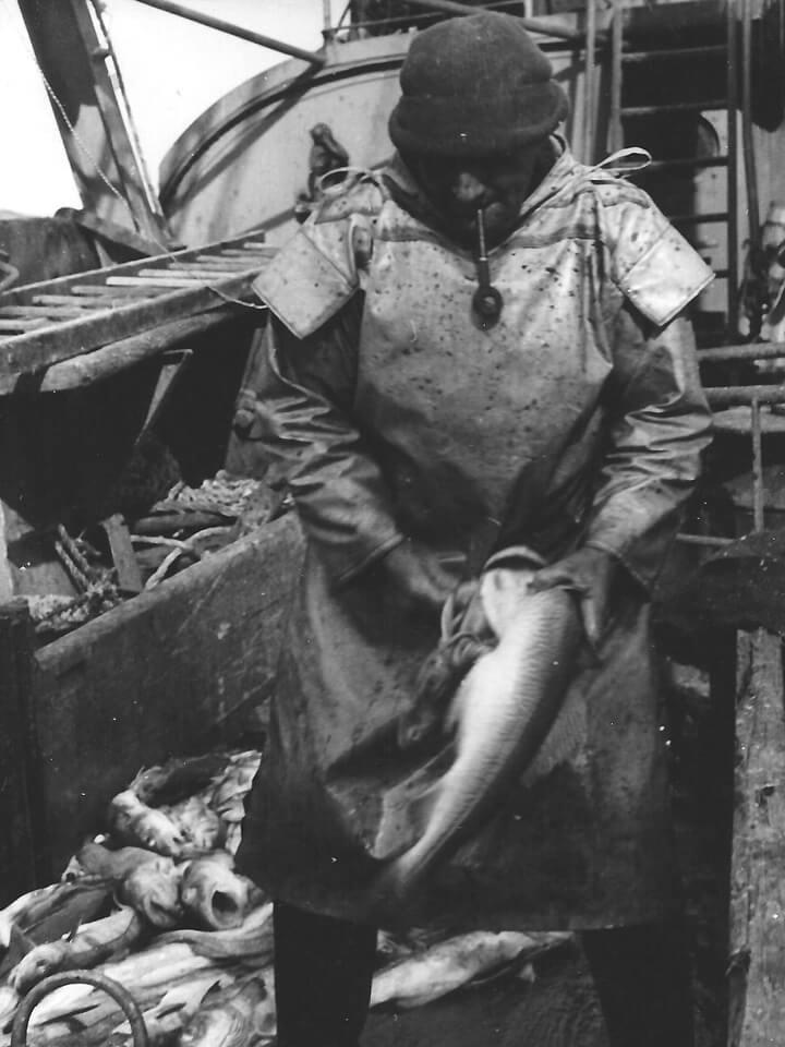 Hochseefischerei Mitte der 1940er