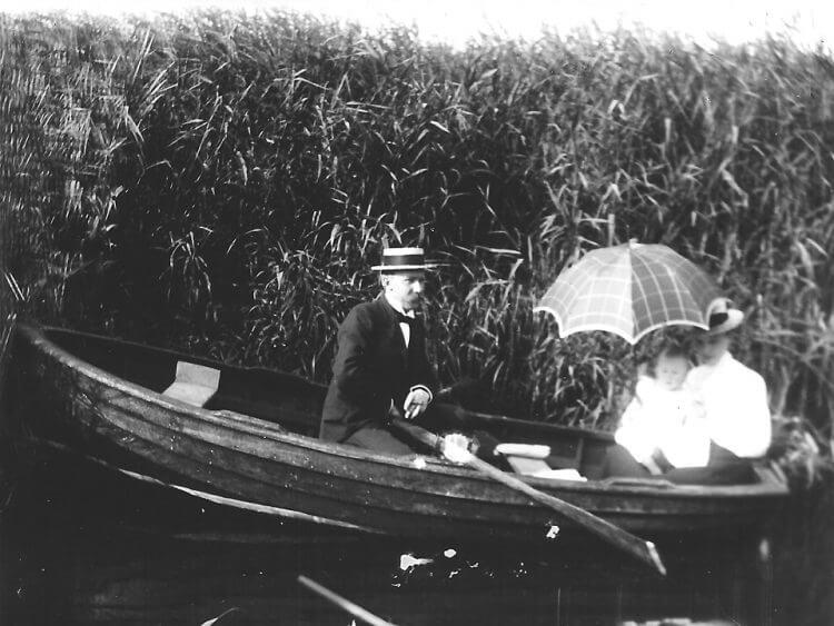 Sonntagsausflug nach Waltershof 1905